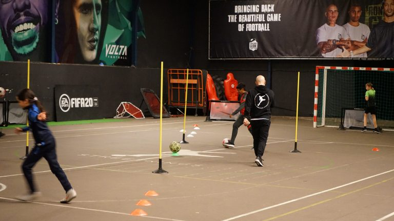 Voetbal clinic