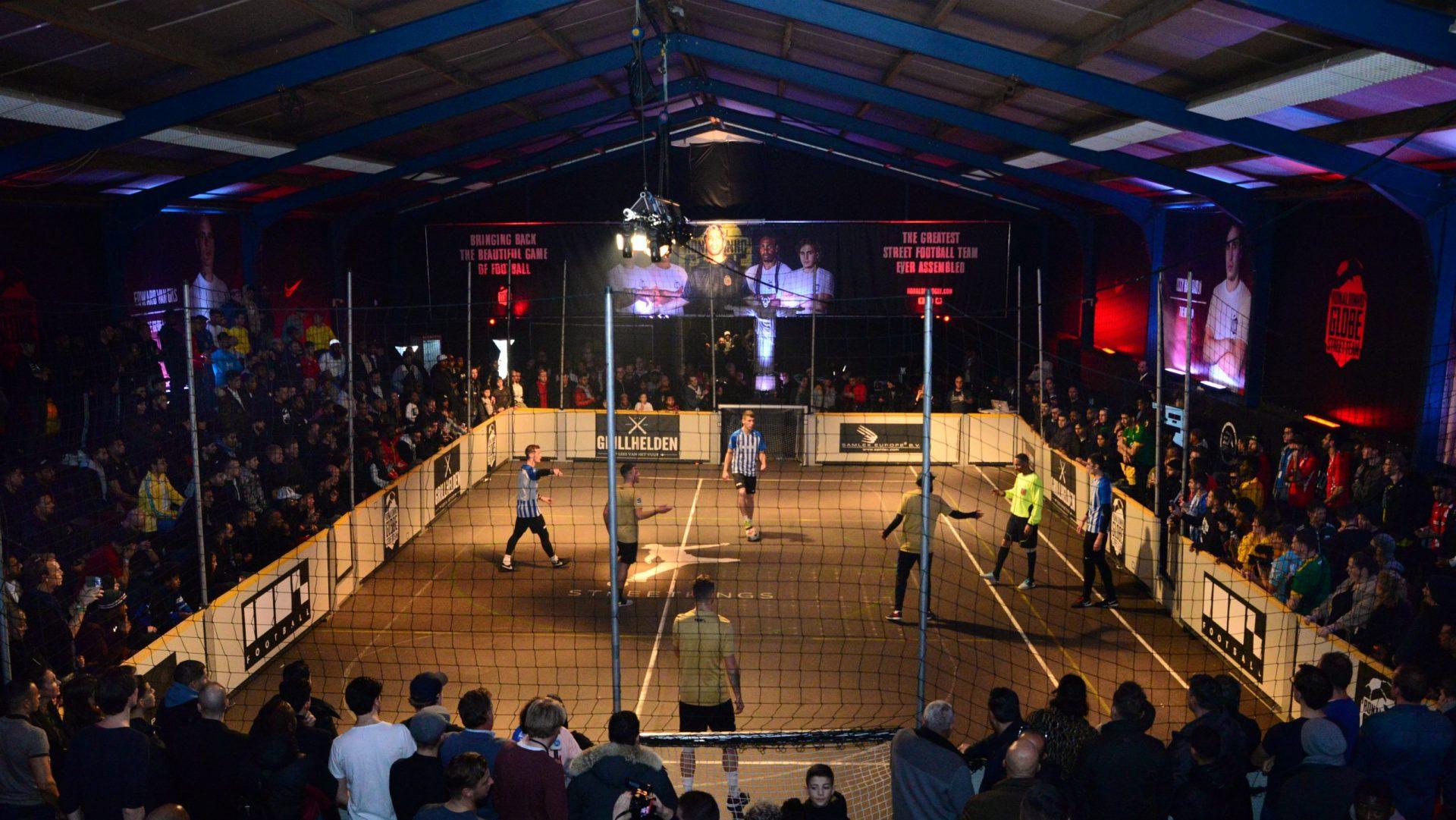 Srtaatvoetbal toernooi